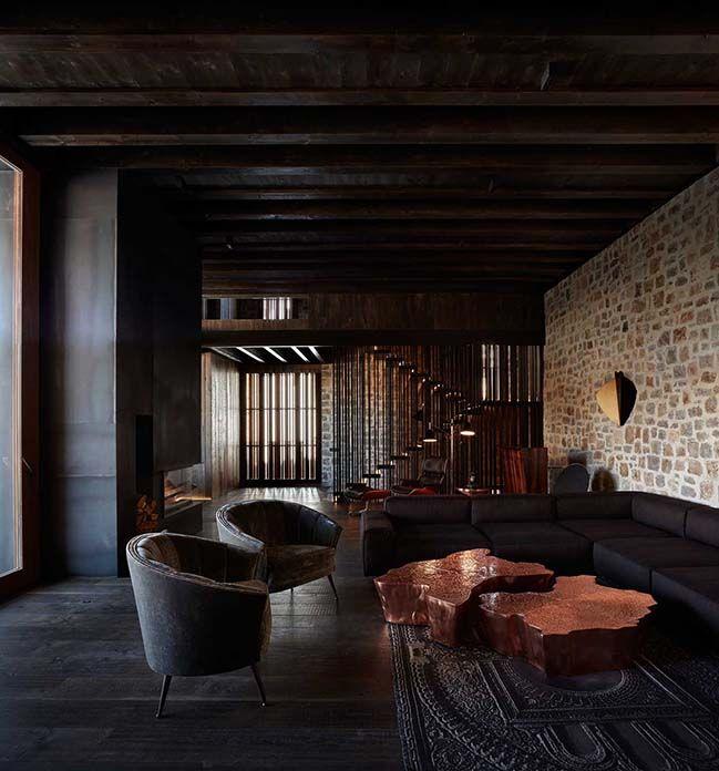 Architecture homedesign homedecor interiors interiordesign luxury house villa spain also gallery of in rubielos de mora ramon esteve estudio rh pinterest