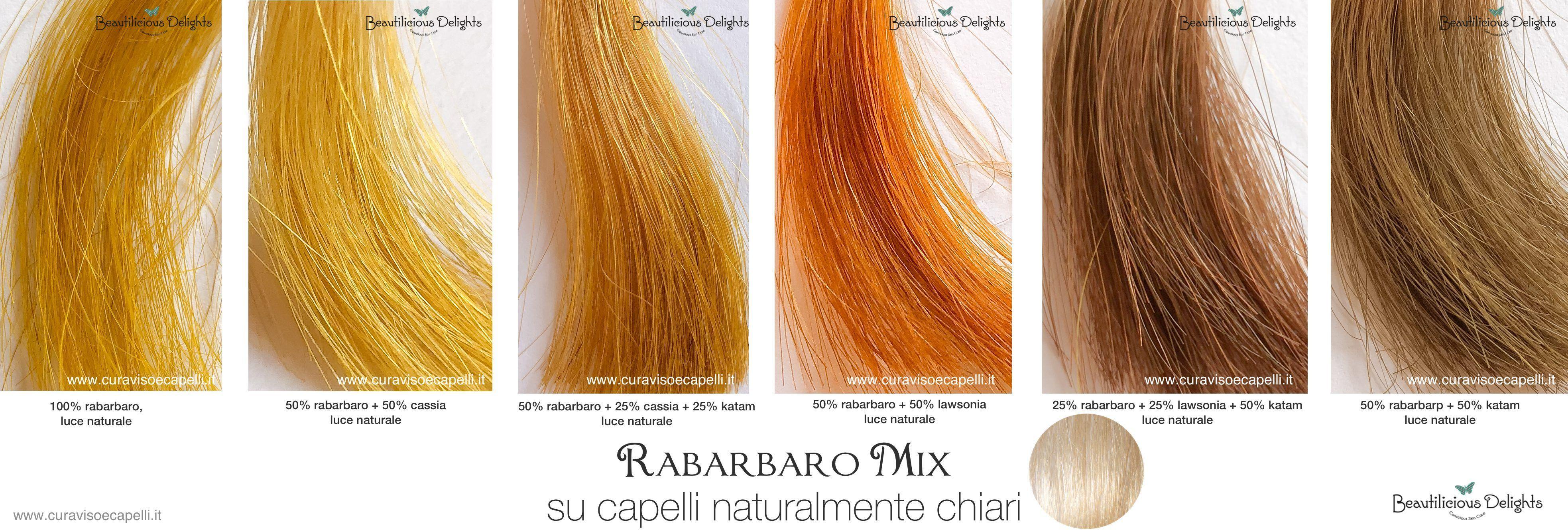 tonalità di biondo castano chiaro rabarbaro henne tinta naturale capelli  biondi chiari 64076eda7920