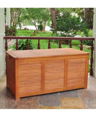 Cushion Storage Box Patio Storage Deck Box Outdoor