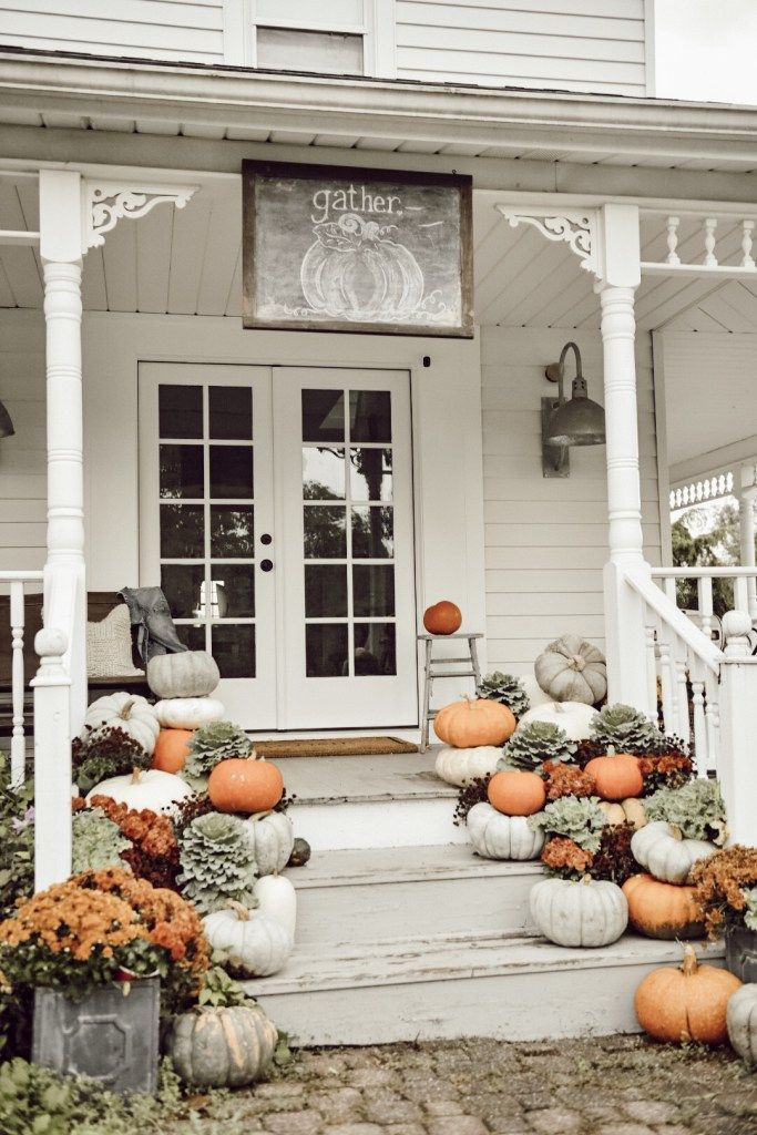 41+ Farmhouse Porch Decorating Ideas to Show Off This