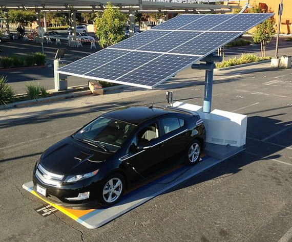 Envision Solar Wins Contract To Supply Portable Ev Chargers To State Of California Solar Car Solar Panels Electric Vehicle Charging Station
