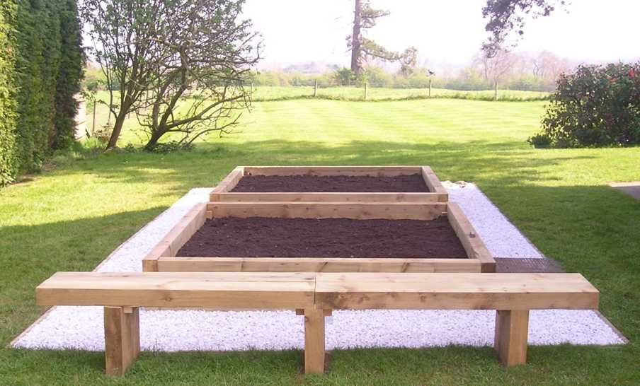 Cheap Raised Garden Beds tranquil place