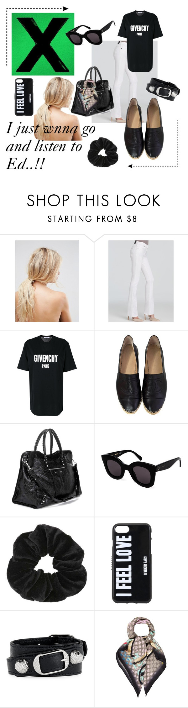 """Untitled #6"" by kajsasjostrom on Polyvore featuring ASOS, True Religion, Givenchy, Balenciaga, CÉLINE, Miss Selfridge and Gucci"