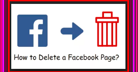 How Do I Delete A Business Page On Facebook 1 Click Edit Page