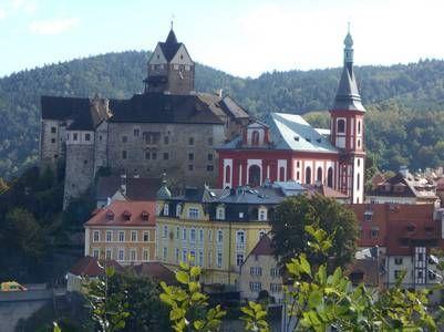 El castillo de Loket.