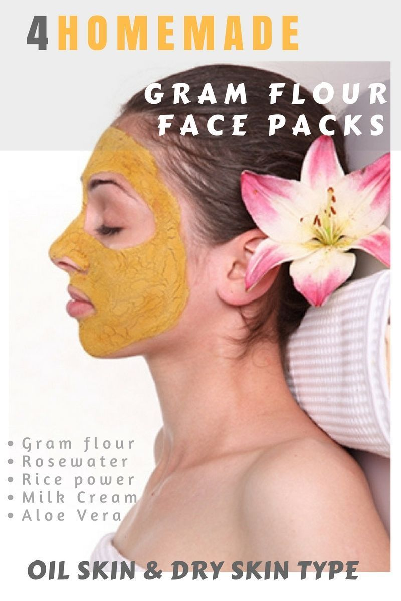 Gram Flour Home Remedies for Oily n Dry Skin Type homemade all