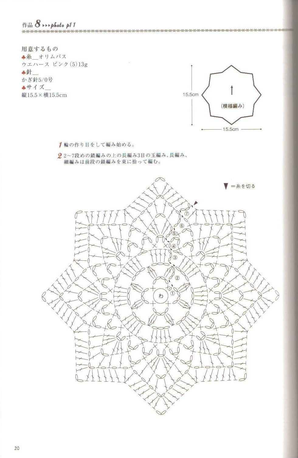 Doily Diagram - No linked pattern, just the image - but great if you ...