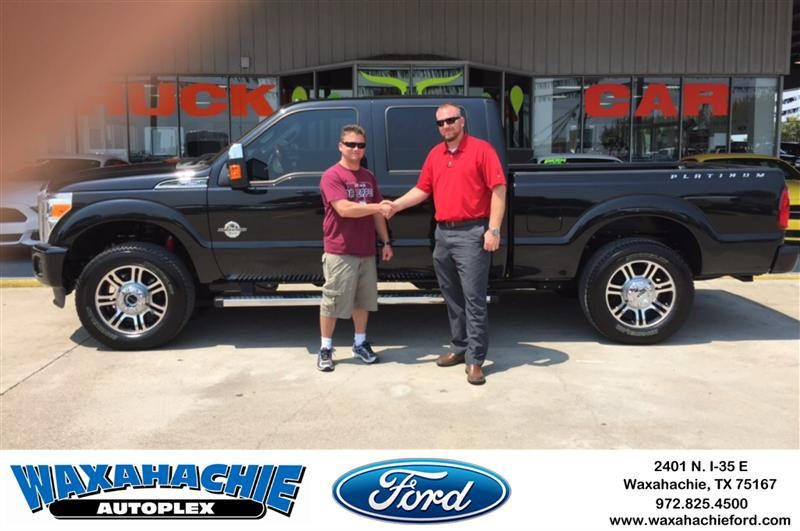 Congratulations Tim on your Ford Super Duty F250 Srw