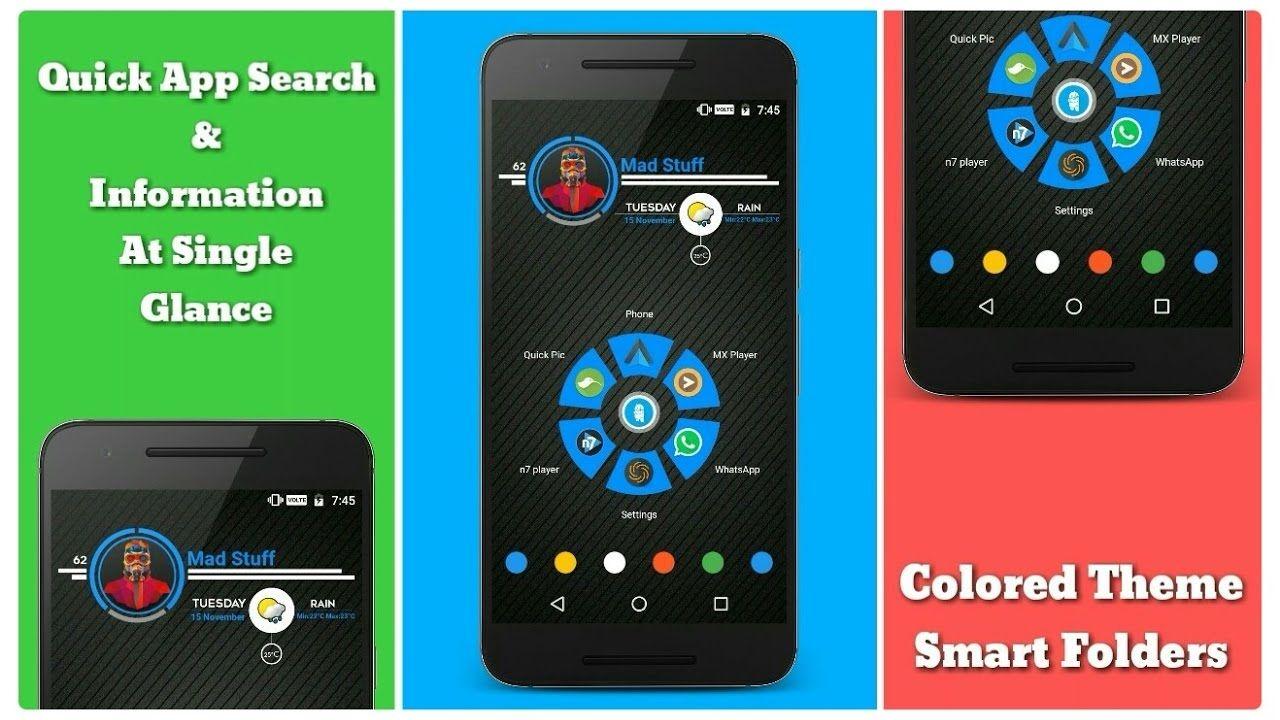 Nova Launcher Nova launcher, Quick apps, Color themes