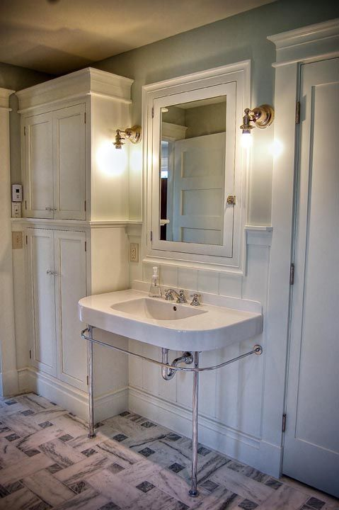 Pictures Of Linen Closets In 1900 Dc Row Houses I 39 D Like A Medicine Cabinet Like That For