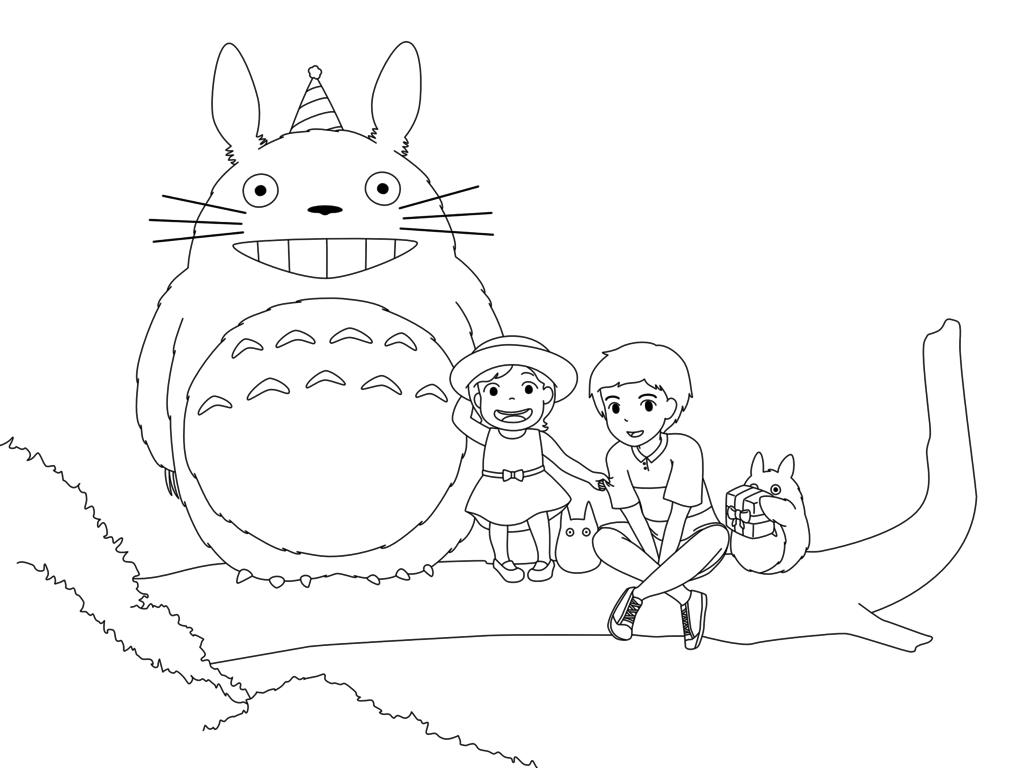 Pin On My Neighbor Totoro [ 768 x 1024 Pixel ]