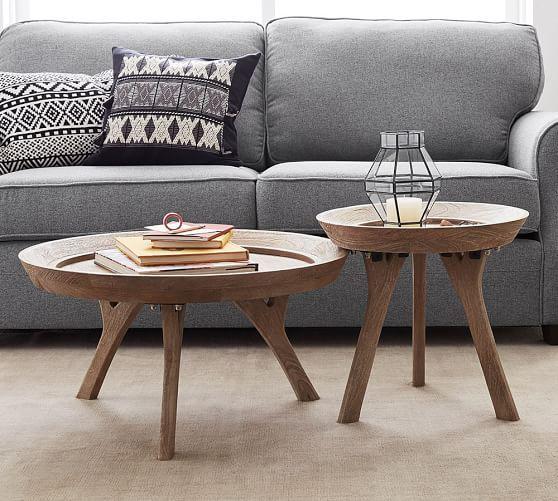 Moraga Coffee Table From Pottery Barn Coffee Table Round Wood Coffee Table Coffee Table Pottery Barn