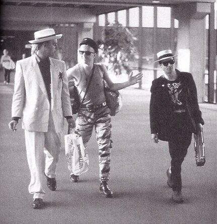 Joe Strummer, Kosmo Vinyl and Bernie Rhodes