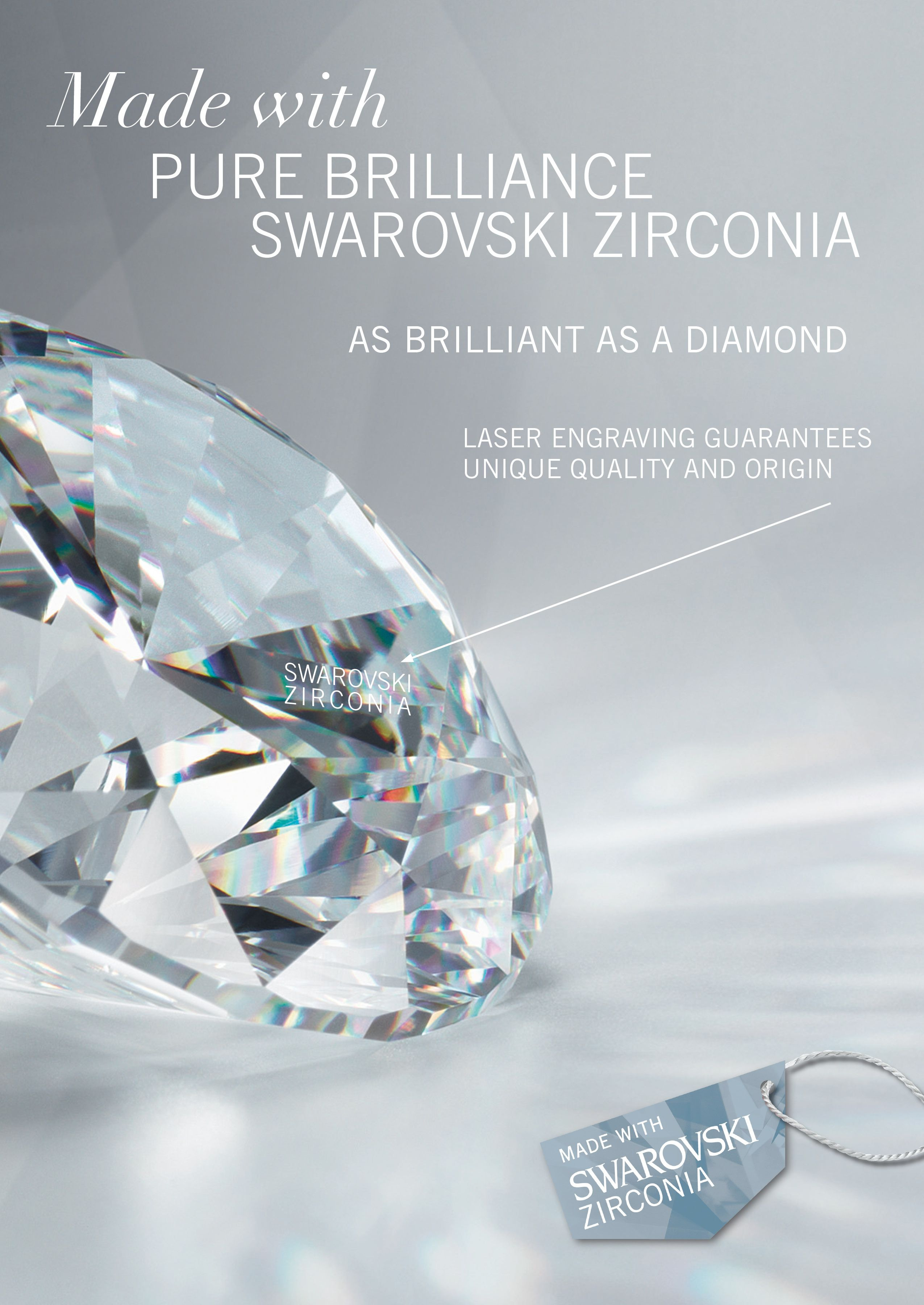 Swarovski crystals - the luxury of brilliance and pure beauty