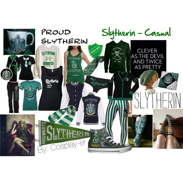 Slytherin - Casual | other | Slytherin, Harry Potter, Casual