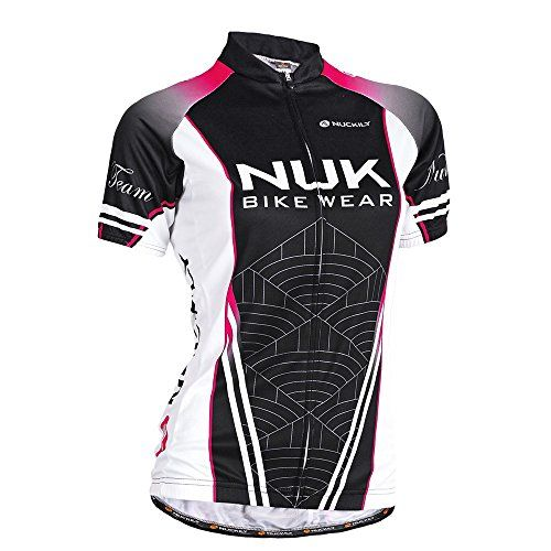 deb1ba486 NUCKILY Womens Summer SS Sublimated Cycling Jersey Medium   You can get  more details by clicking on the image. (Note Amazon affiliate link)