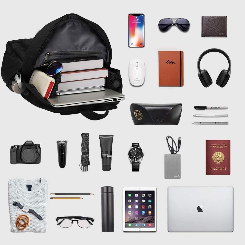 Spirit Untamed Dark Grey Backpack Glow in Dark USB Charging Port Bag 17 inch for School