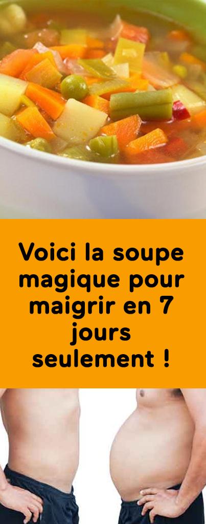 Voici la soupe magique pour maigrir en 7 jours seulement