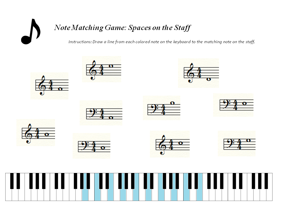 Free Music Theory Worksheets and Games ...