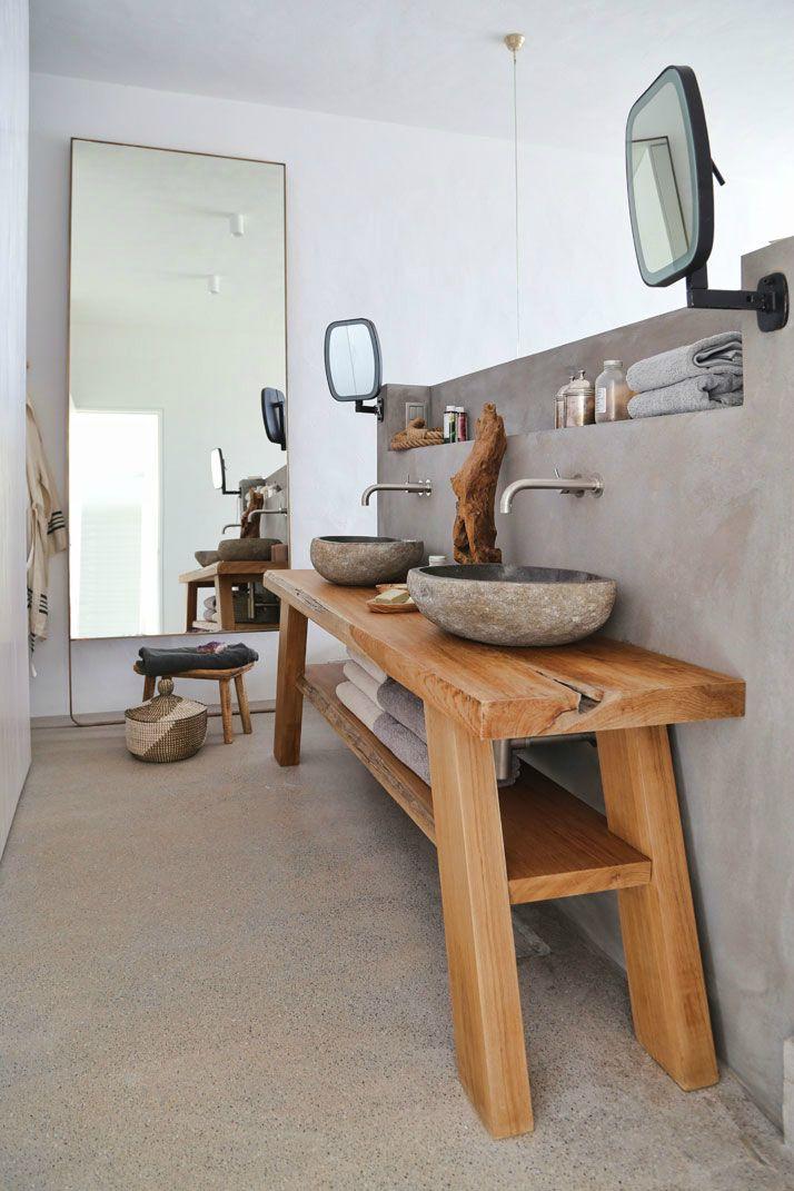 Dream Summer House On Syros, Greece Salles de bains rustiques - Toilette Seche Interieur Maison