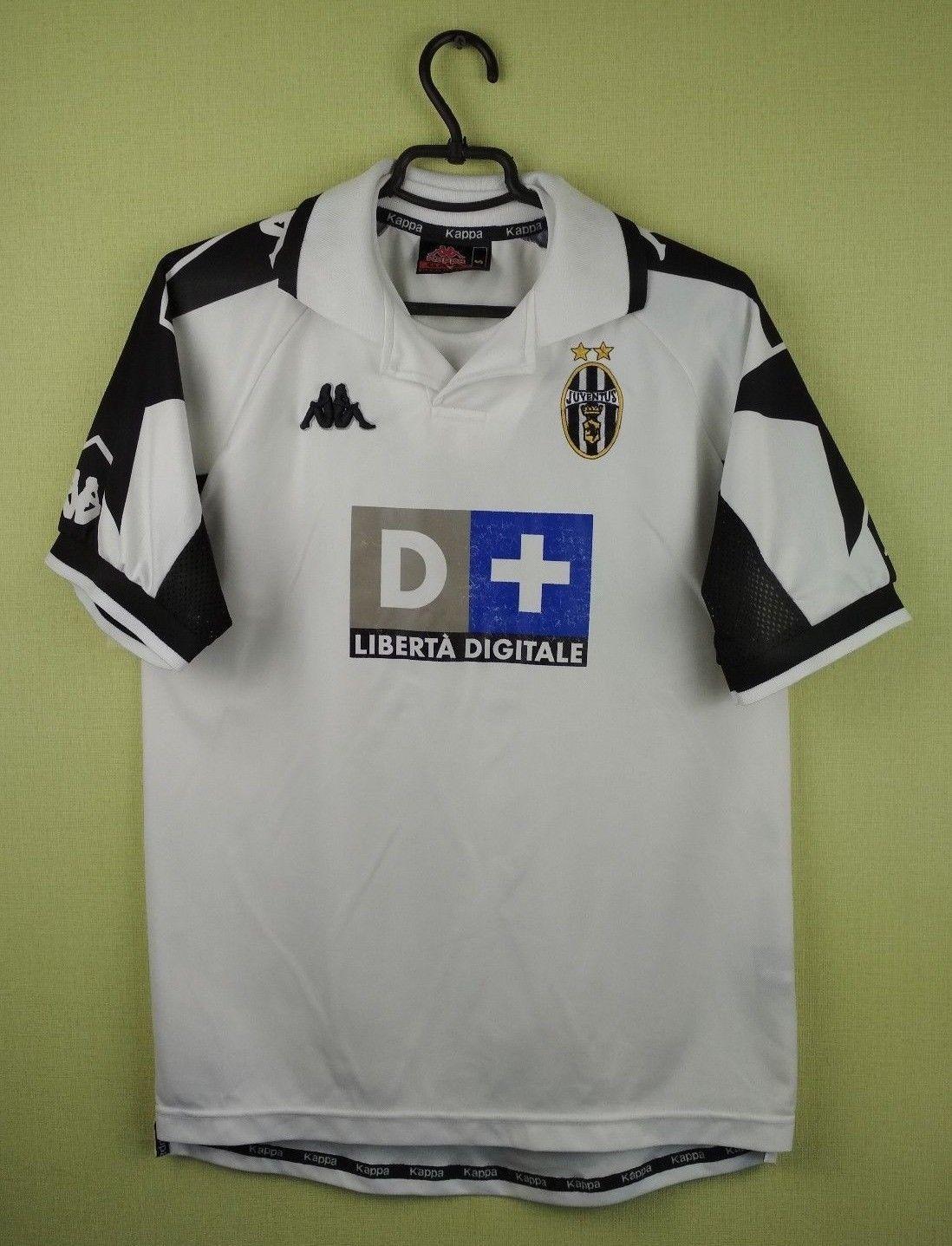 199d9f036 Juventus jersey shirt 1999 2000 Away official kappa soccer football size S (eBay  Link)