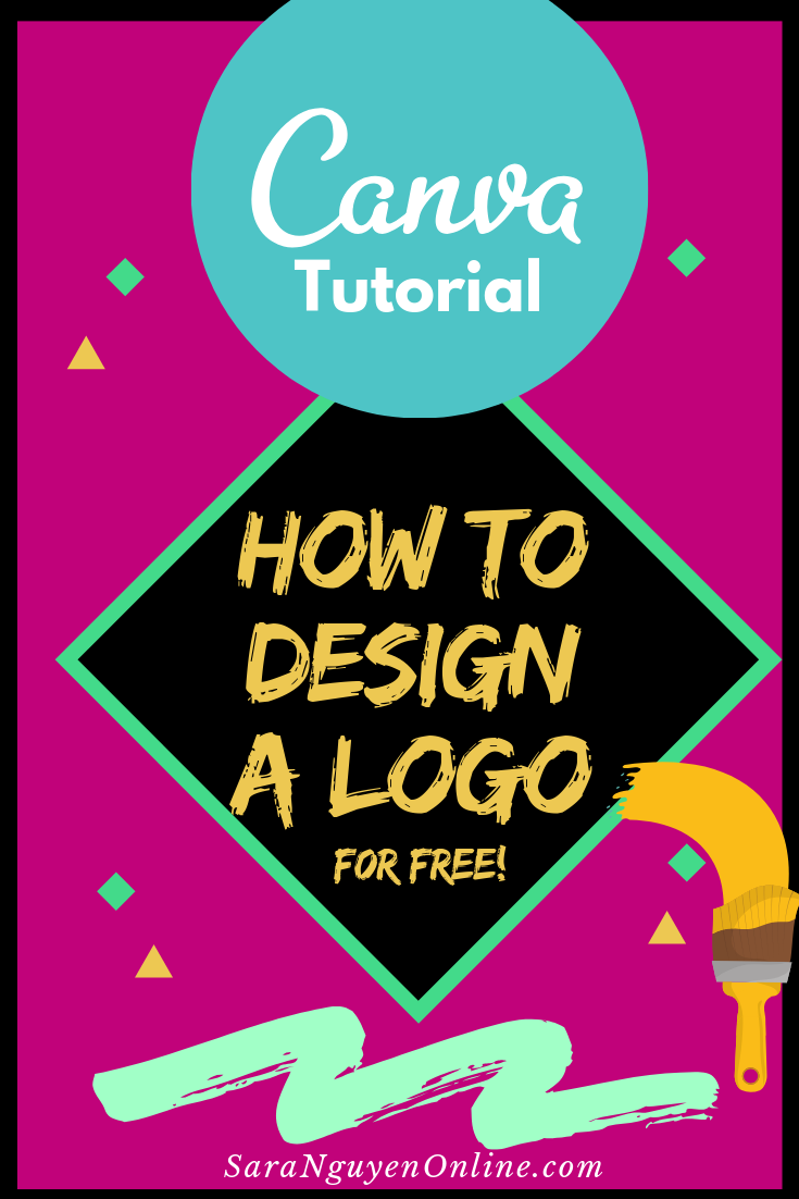 Canva Tutorial How to make a logo (for free Free logo