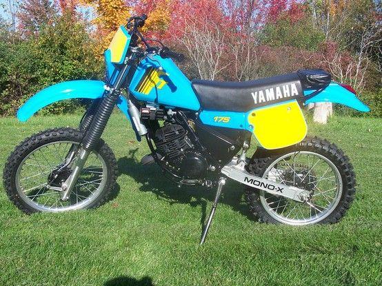 1983 Yamaha It175 My First Dirt Bike Vintage Motocross Enduro Motorcycle Bike Rider