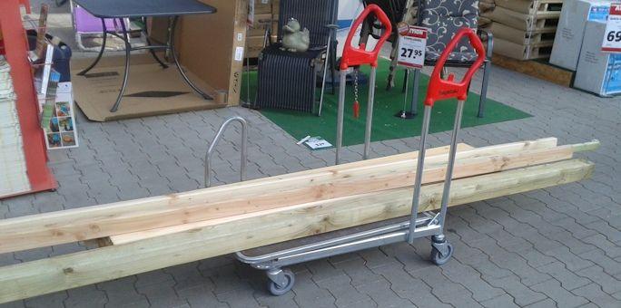 Gartentisch selber bauen - Bauanleitung