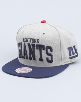 Mitchell   Ness - New York Giants NFL Throwback Snapback cap  08054c6a905