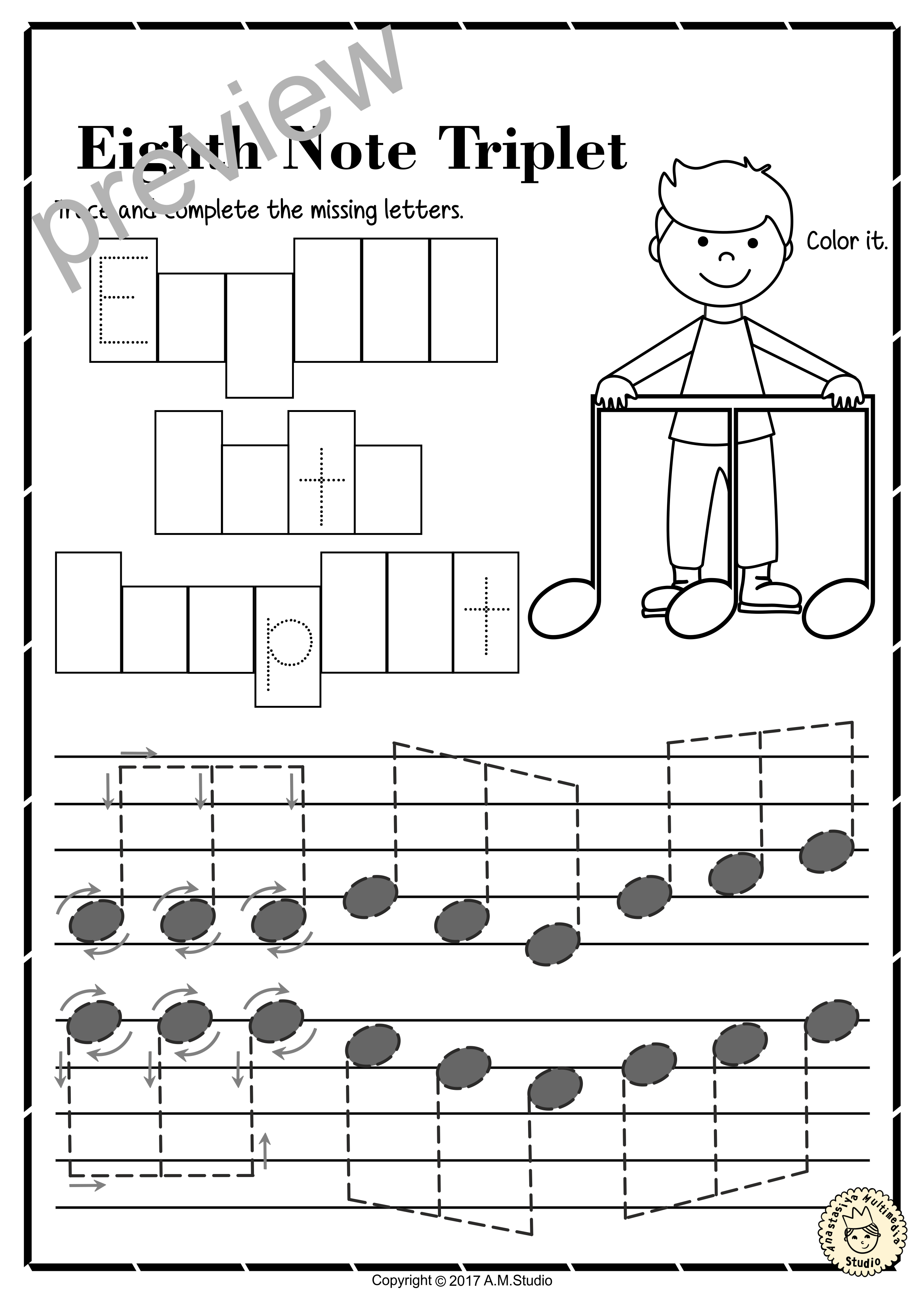 A Set Of 17 Music Worksheets Is Created To Help Your