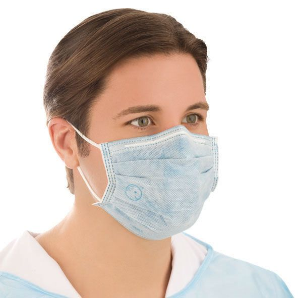 flu virus face mask