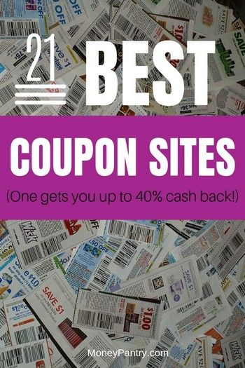 The 21 Best Coupon Sites (Updated for 2020): Save up to 90% - MoneyPantry