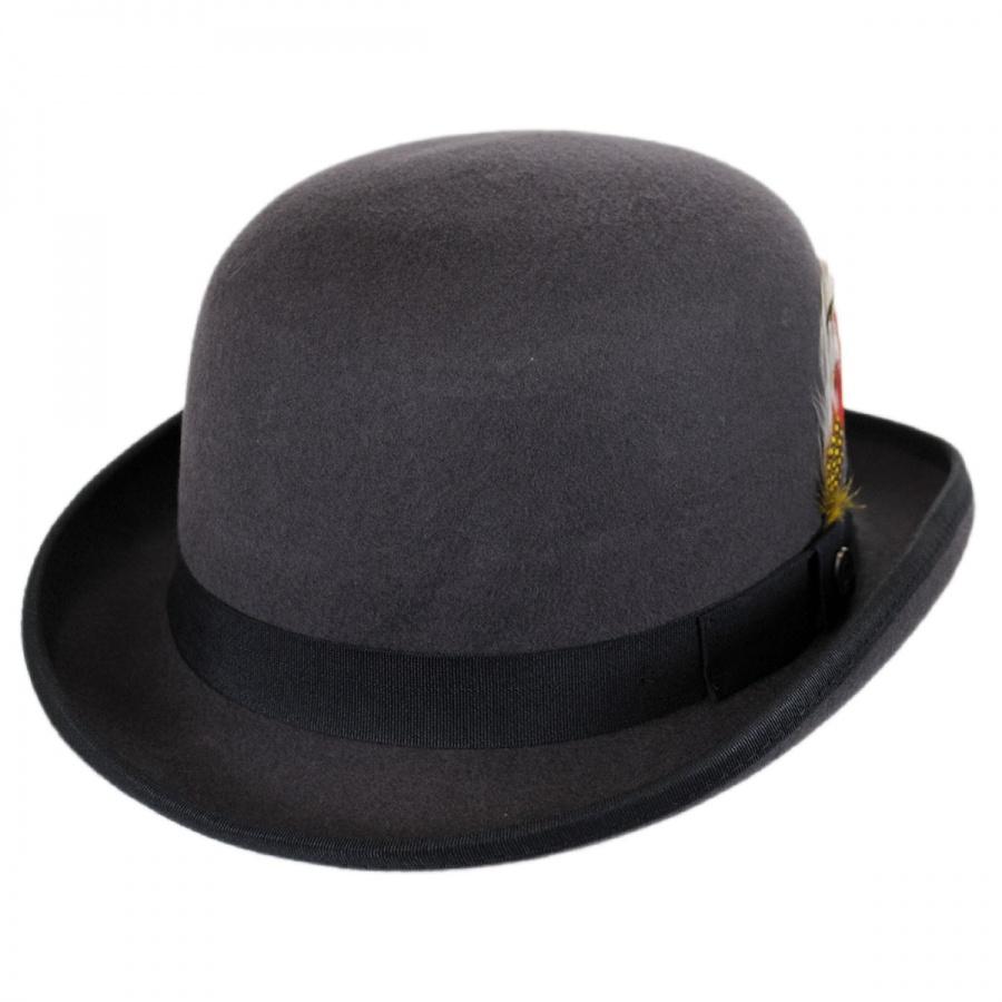 Jaxon Hats English Wool Felt Bowler Hat Derby Bowler Hats Jaxon Hats Bowler Hat Derby Hats