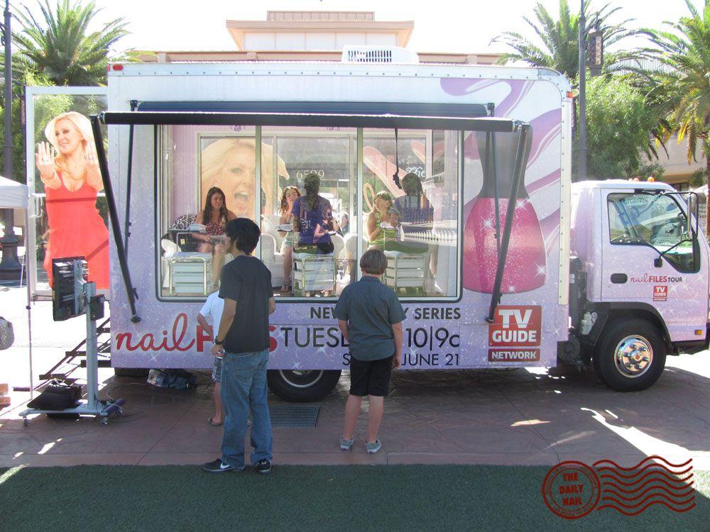 mobile manicure truck Spa de uñas, Salon de uñas
