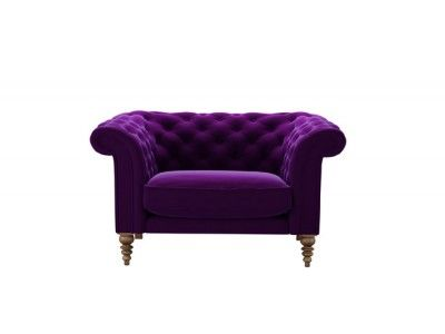 oscar loveseat in sloe pure cotton matt velvet - http://www.sofa.com/shop/sofas/oscar/customize/size/115/fabric/CMVSLO/