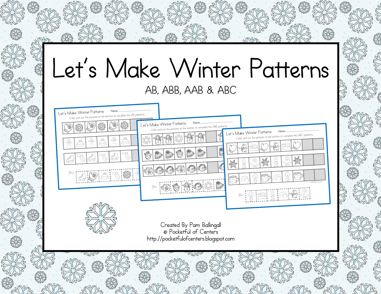Winter Pattern Printables