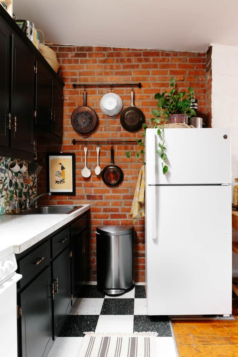 This rental kitchen got  makeover and is no longer recognizable kitchn also rh pinterest