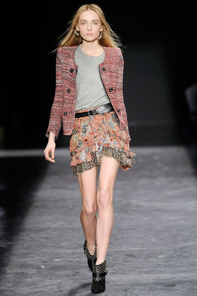 Isabel Marant - Fall 2009 Ready-to-Wear - Look 12 of 47