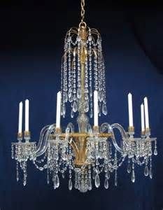 English 18th Century Glass Chandelier Chandelier Glass Chandelier Branch Chandelier