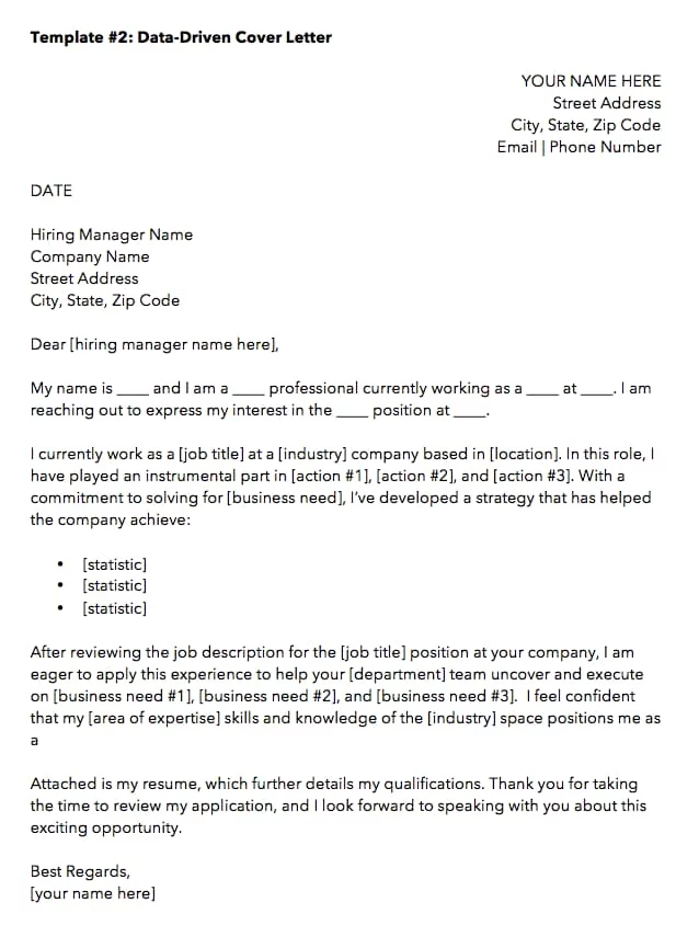 10 Cover Letter Templates To Perfect Your Next Job Application Job Cover Letter Job Application Cover Letter Cover Letter Template