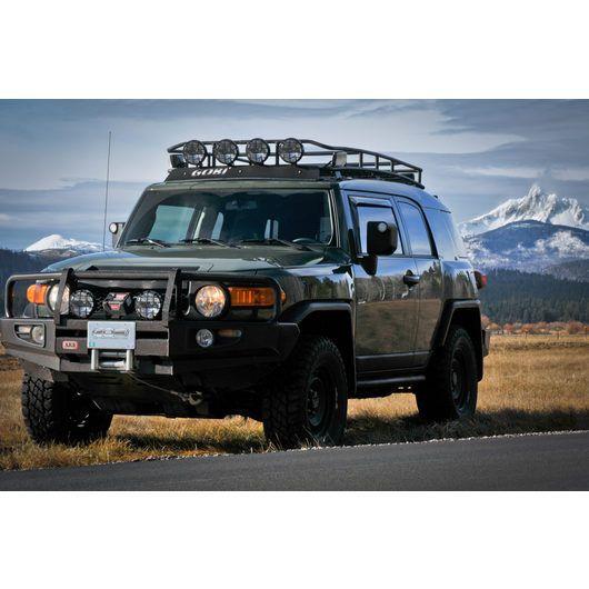 Gobi Toyota Fj Ranger Rack Multi Light Setup No Sunroof Fj Cruiser Pergola Pergola Pictures