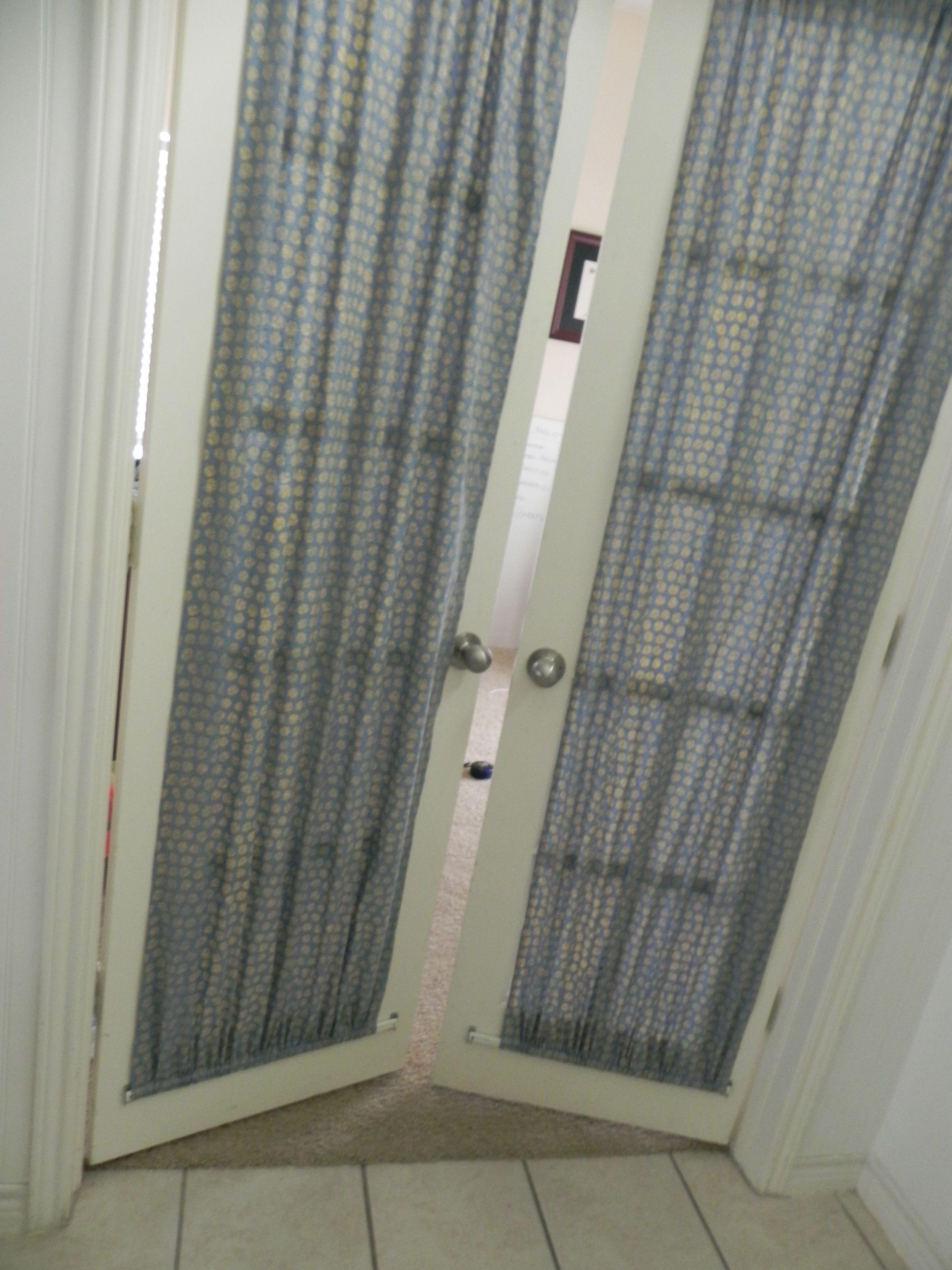 Window Treatments Metal Doors Diy French Door Curtains French Door Curtains Door Curtains And