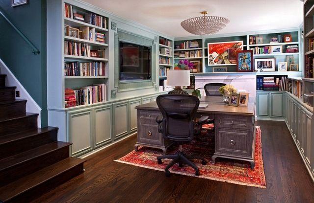 Transformez votre sous sol en un bureau à domicile chic sous sol