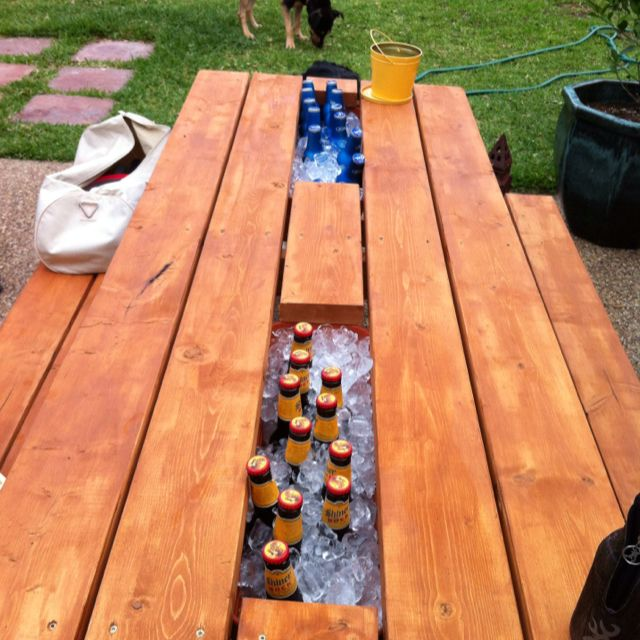 We Modified The Gutter Picnic Table That S Gone Viral On