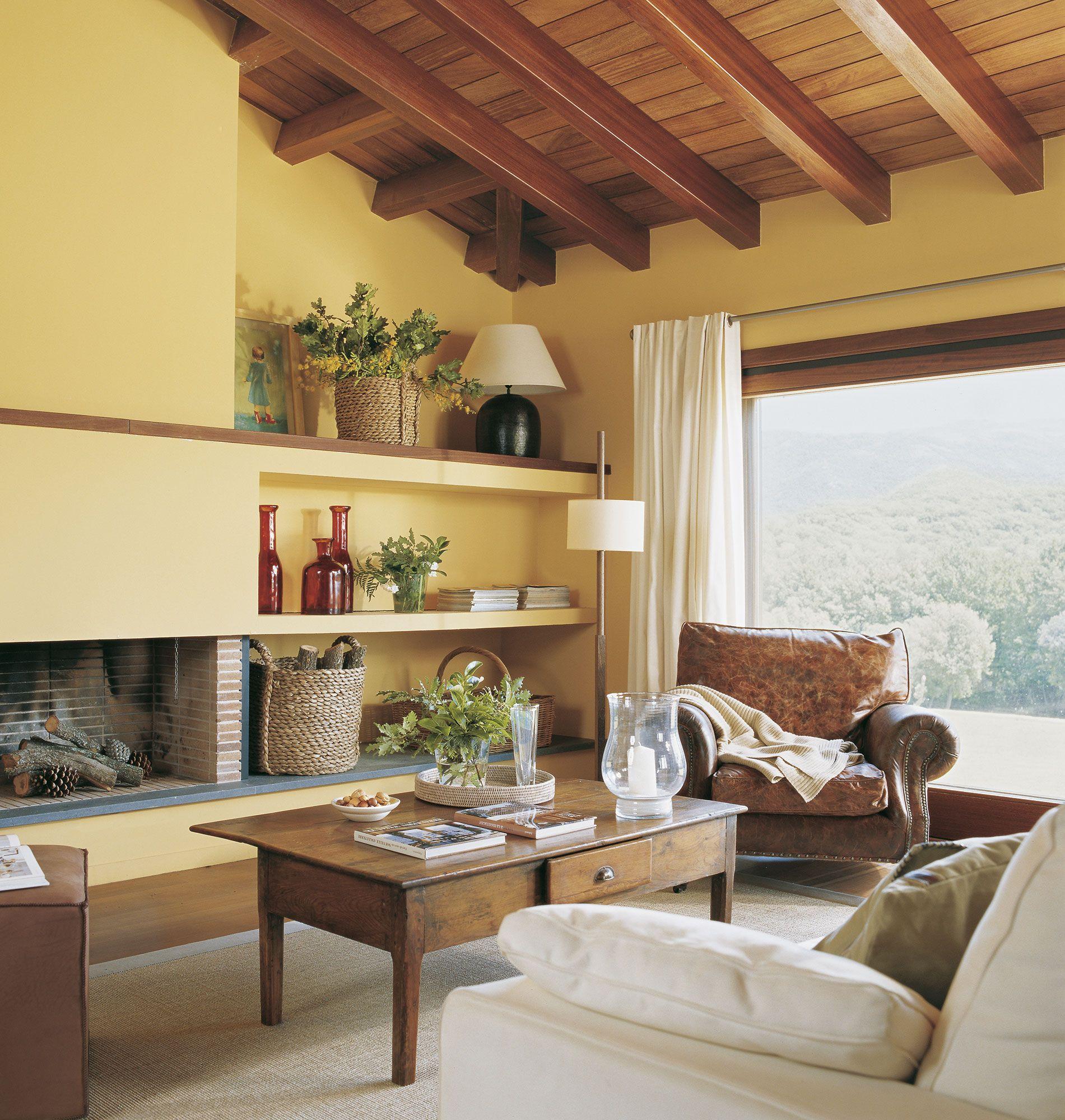 Asombroso Salón Cocina Verde Amarillo Componente - Como Decorar la ...