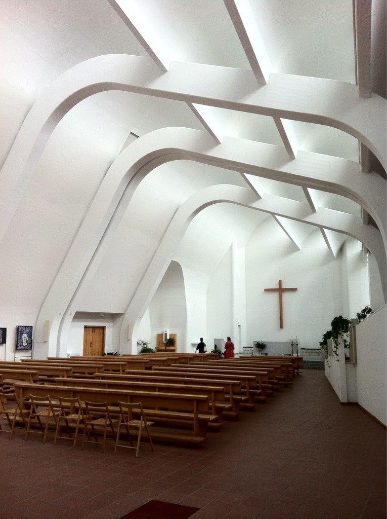Aalto Church Architecture Interior Design Landscape Pinterest Churches Architecture
