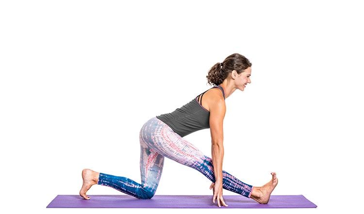 Ardha Hanumanasana Half Front Splits Pose Yoga Gaia Hip Workout Yoga Poses Hips Workout Challenge