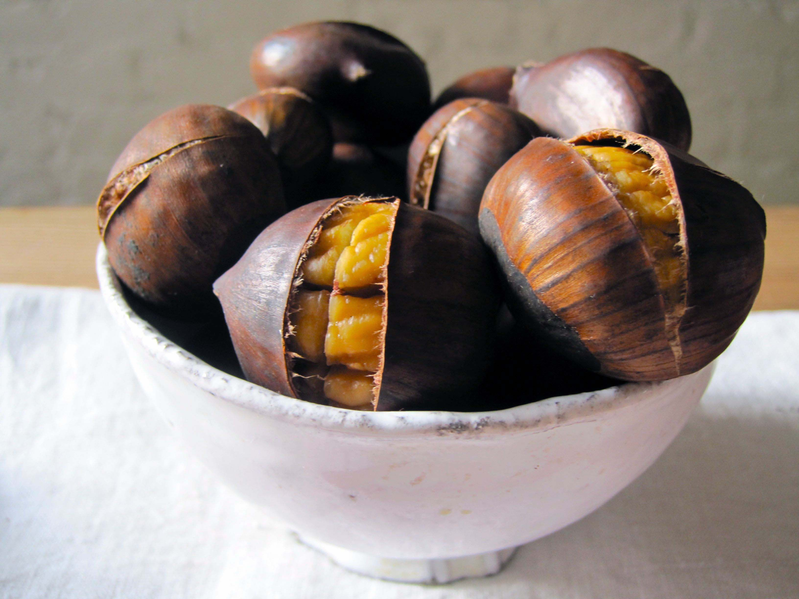 Not only are #chestnuts much lower in #calories than most other ...