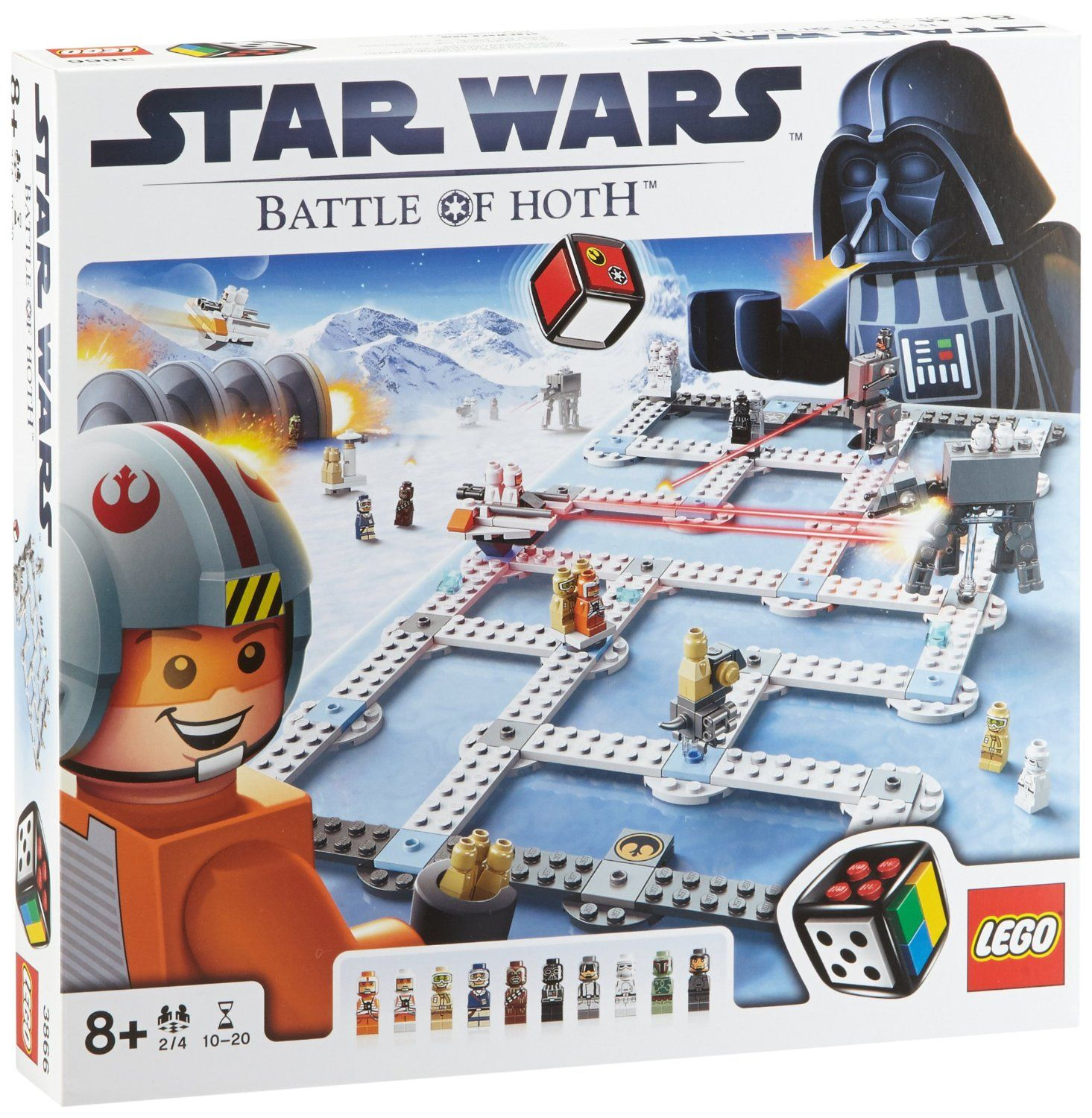 LEGO Games 3866: Star Wars The Battle of Hoth | Lego Creations ...