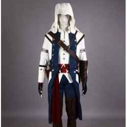 Assassins Creed Costume For Kids At Squidoo Assassin S Creed Iii Cosplay Costume Conner Kenway Assassins Creed Costume Geek Costume Christmas Outfits Women